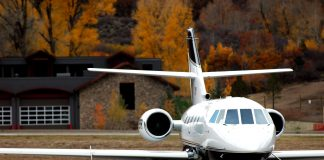Private jet traffic to the Hamptons and Aspen is booming