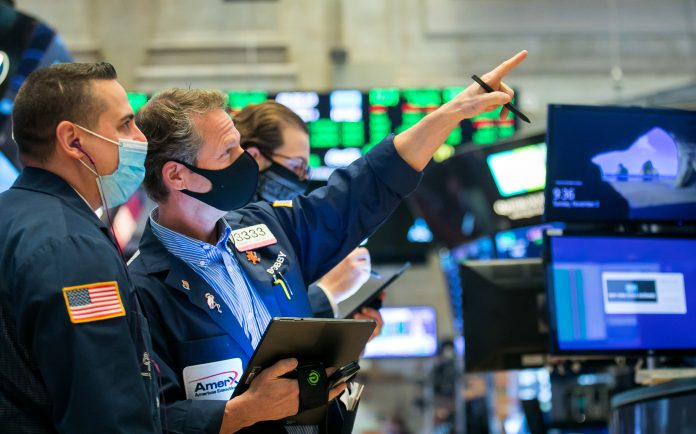 Dow futures rise more than 100 points after record day on Wall Street