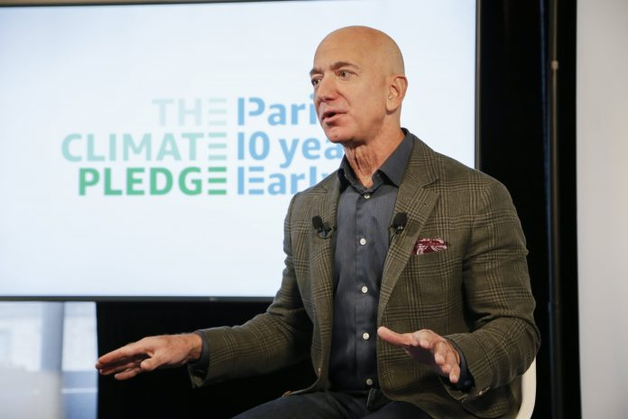 IBM is 1 of 20 companies joining Amazon in Jeff Bezos' Climate Pledge