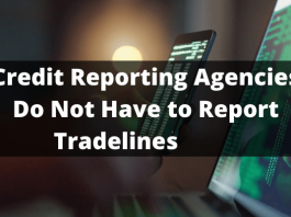 Credit Reporting Agencies Do Not Have to Report Tradelines