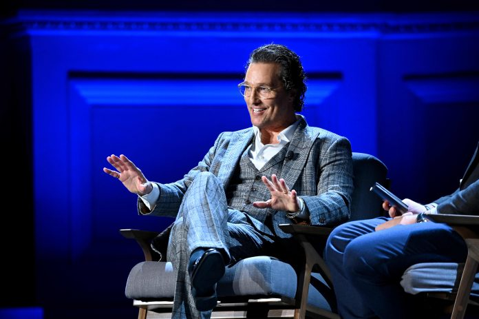 Matthew McConaughey explains how time off helped relaunch his career